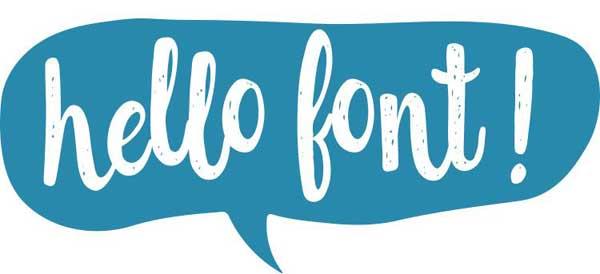 Use-typeface-logo