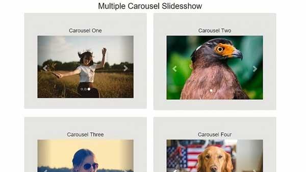 Slideshow-Carousel