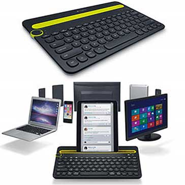 Multi-device-keyboard