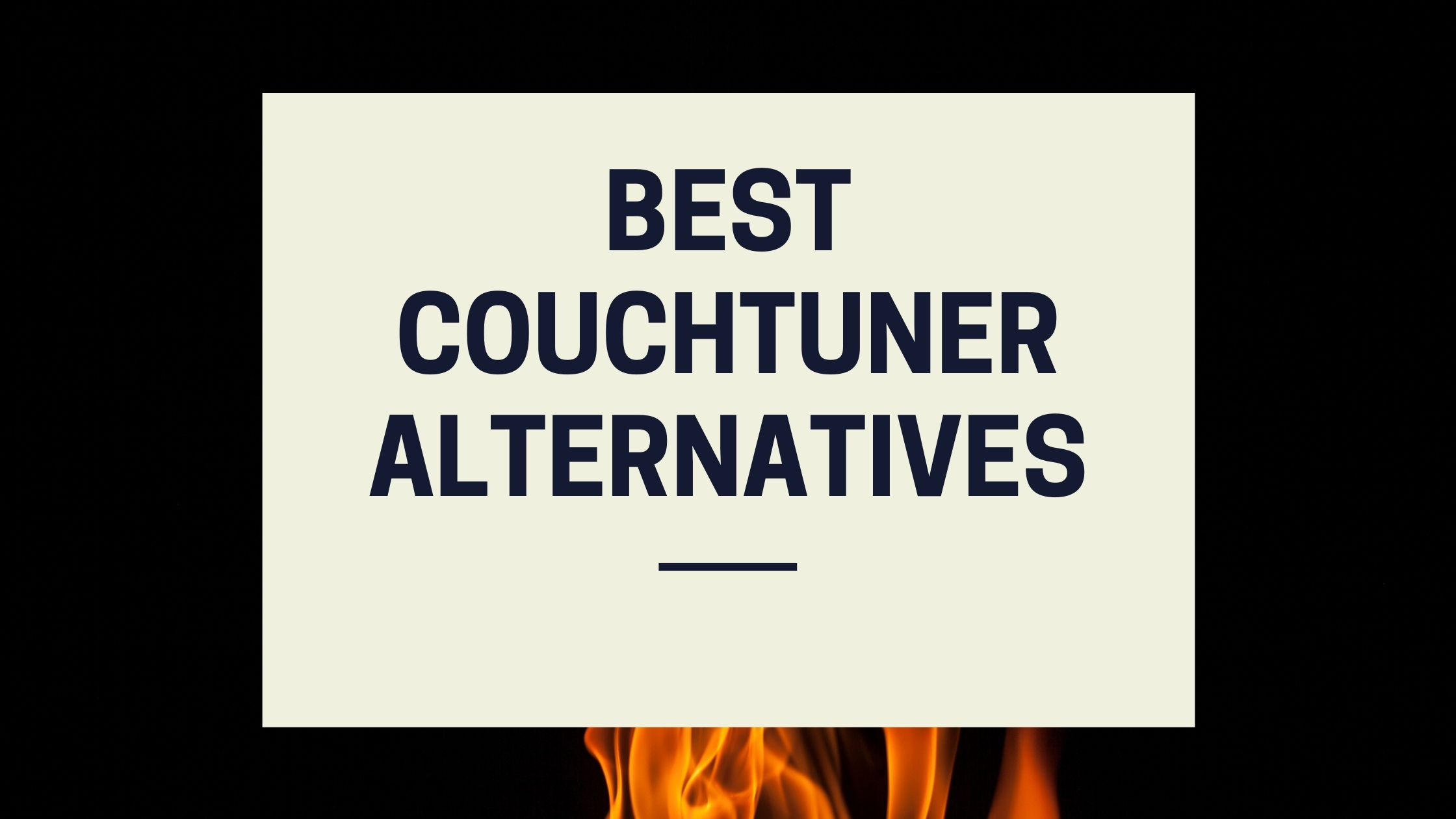 Best Couchtuner alternatives