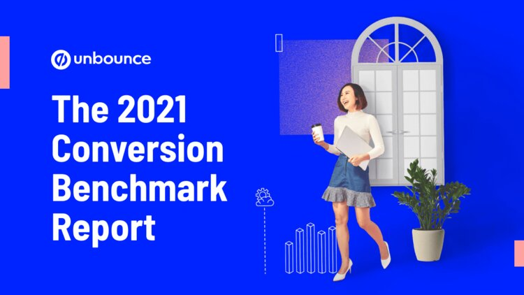 unbounce conversion benchmark report