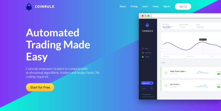 Coinrule_Trading_Platform