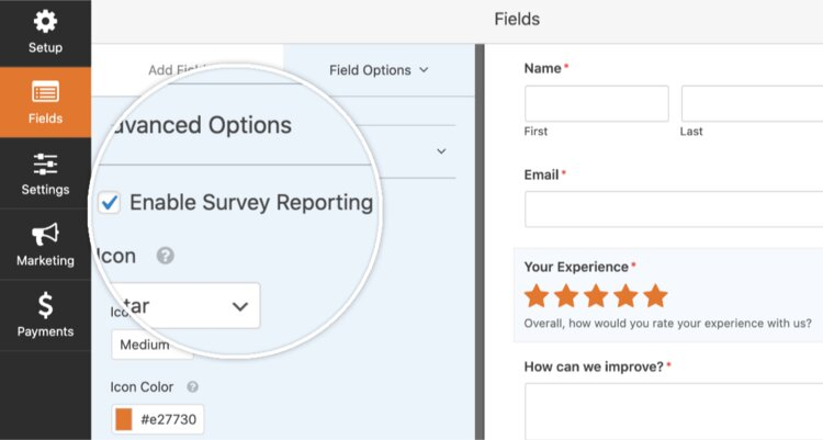 Enable-survey-reporting-within-form-builder