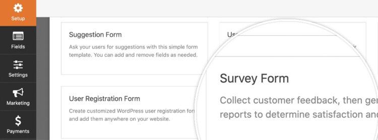 Survey-Form-template