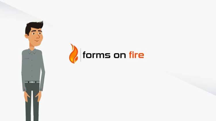 forms on fire